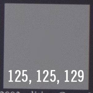Grey: 50mm, f2.8 (mechanical)